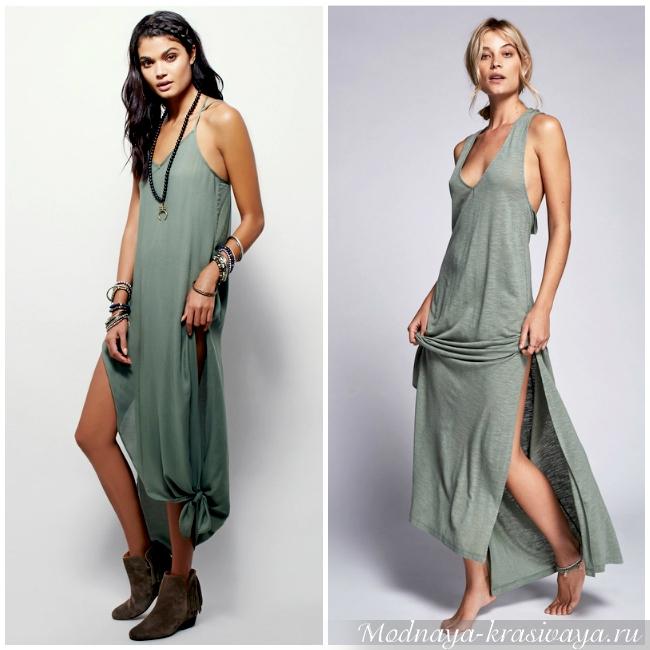 Платья с добавлением синтетических волокон