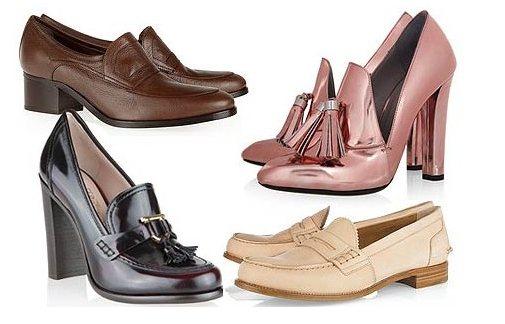 модели туфель