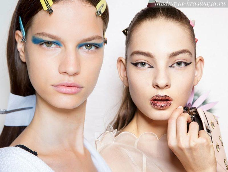 Тренды в макияже на весну-лето 2018
