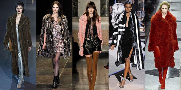 Модные меха 2016-2017, фото
