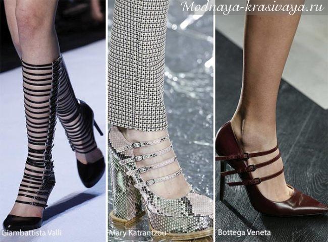 пряжки на туфлях