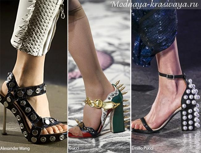 заклепки на обуви