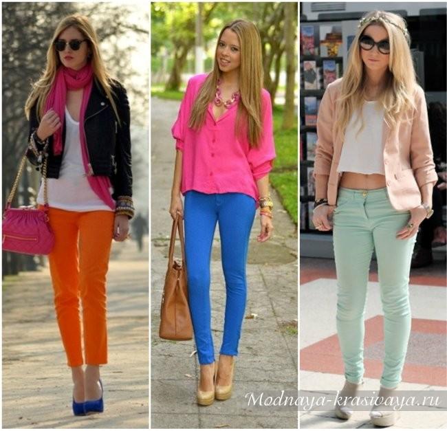 модные цвета лжинсов 2017