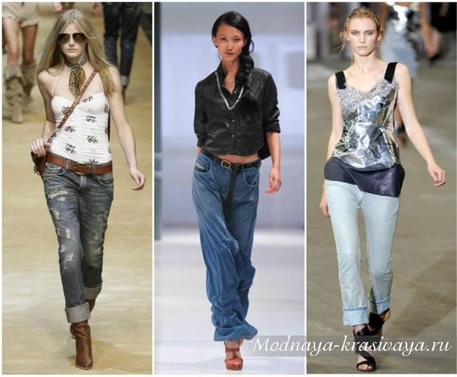 Модные женские джинсы 2017, фото