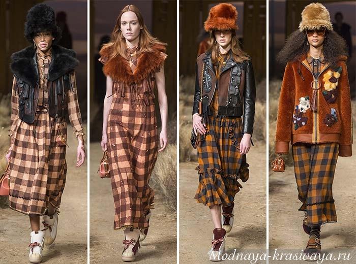 Модные образы на зиму