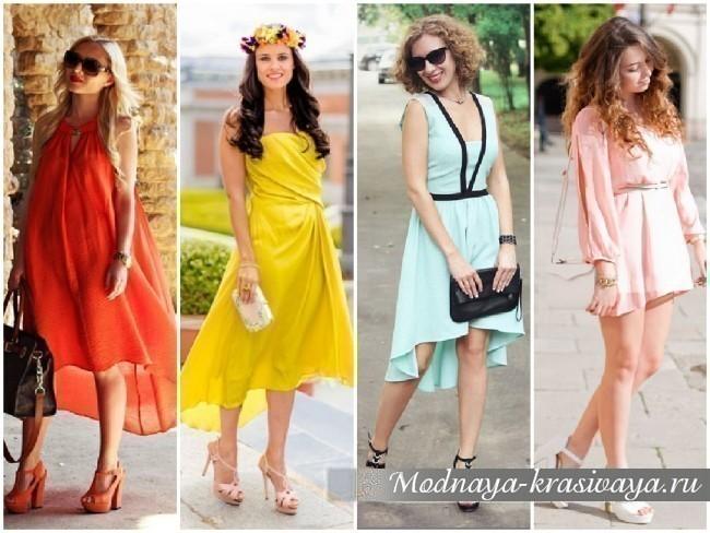 Мода на повседневные летние платья