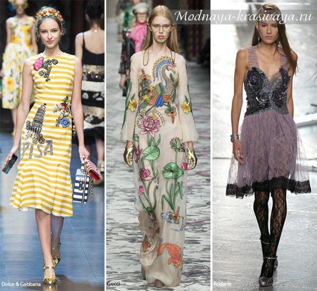 Модные платья весна-лето 2019 новинки фото