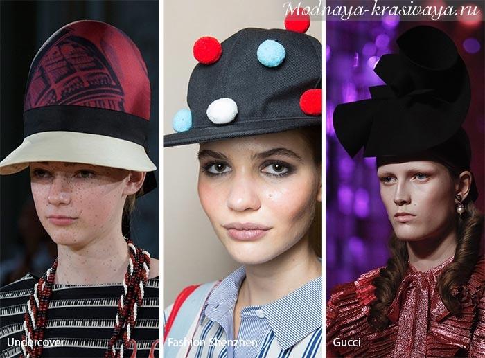 Модные шляпки лета 2017