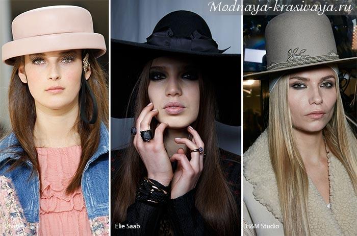 классические женские шляпы