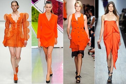 оранжевый яркий цвет