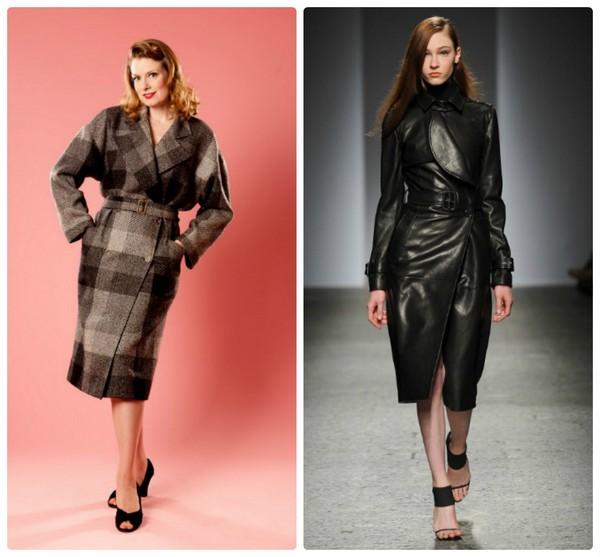 Модное полупальто 2015