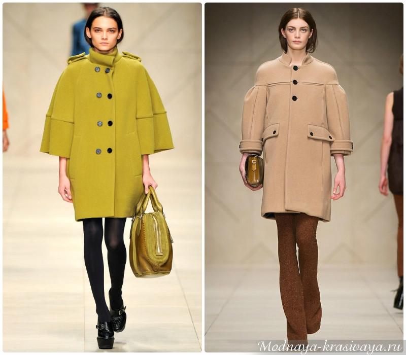 Модели Пальто 2017