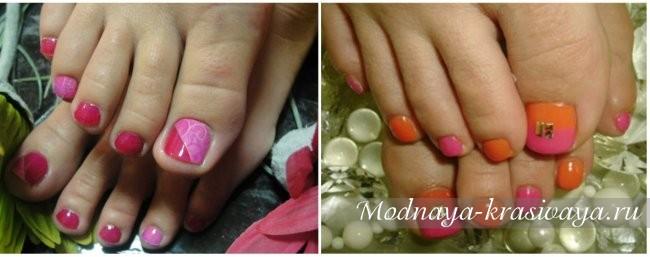 Сочные цвета на ногтях