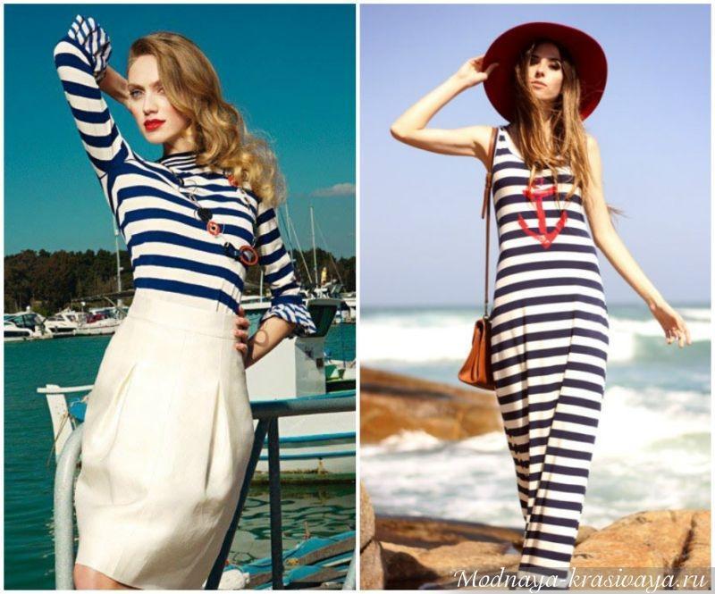 Морской стиль в одежде
