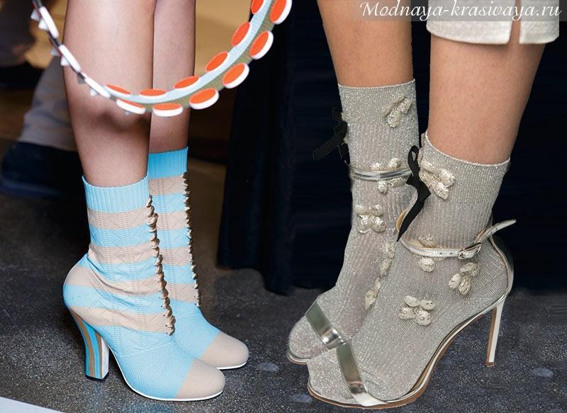 Модная обувь 2024