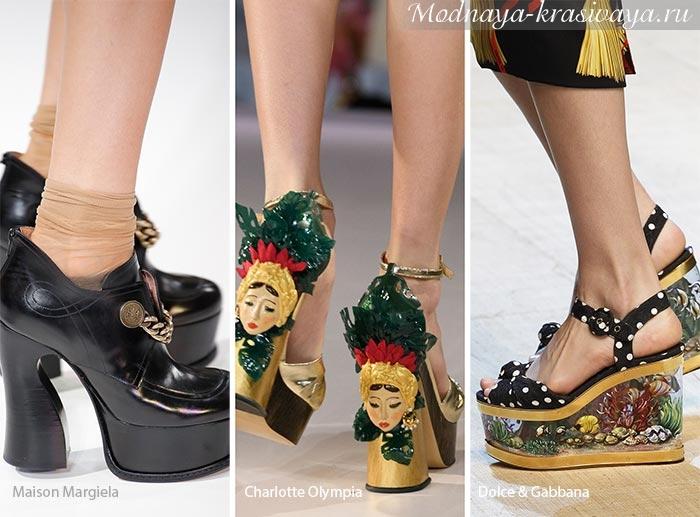 Тенденции обувной моды