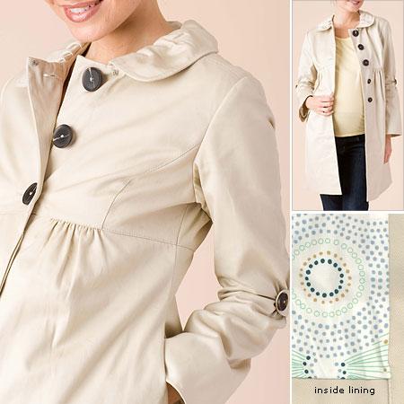 Красивые пальто для беременных женщин