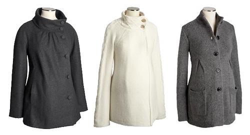 короткие пальто для беременных
