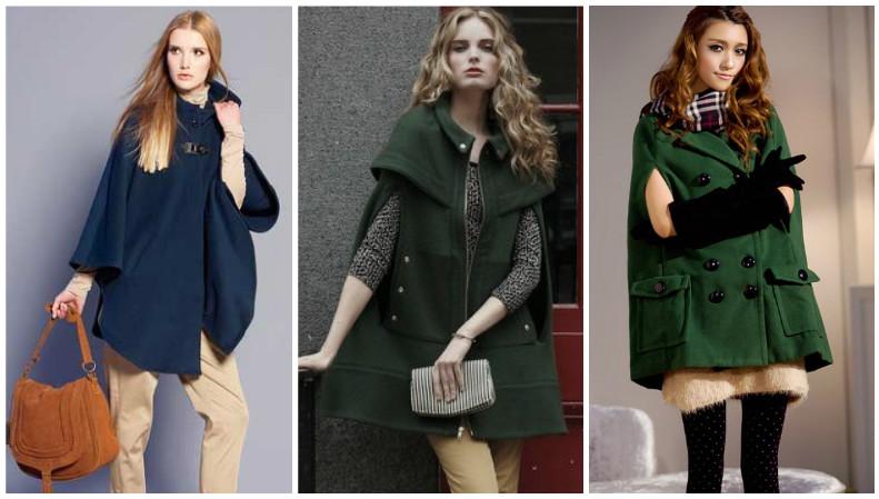 Темные цвета пальто