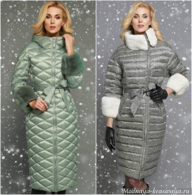 Теплое пальто для холодной зимы