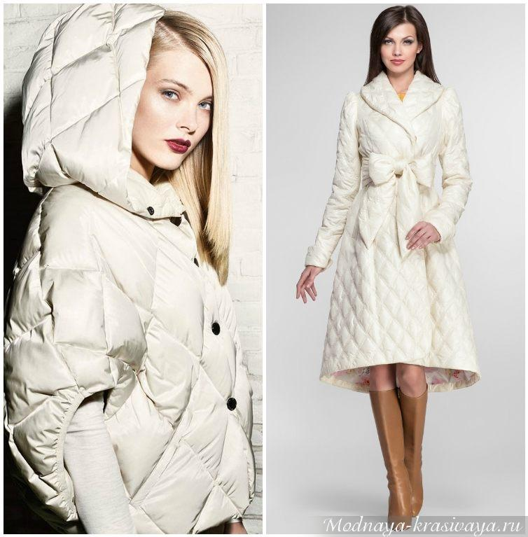 С чем носить пальто на синтепоне?