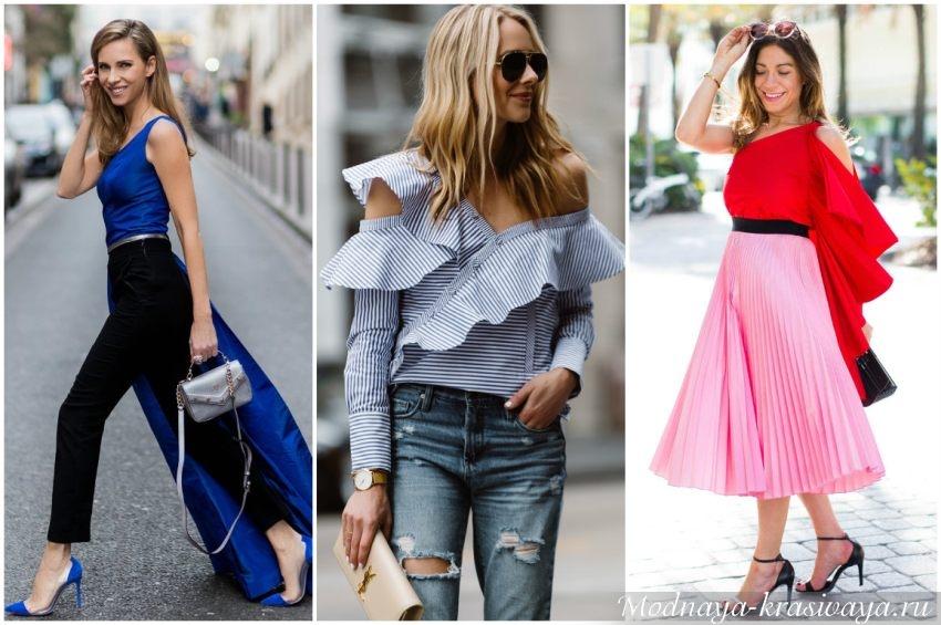 Ассиметричные блузы