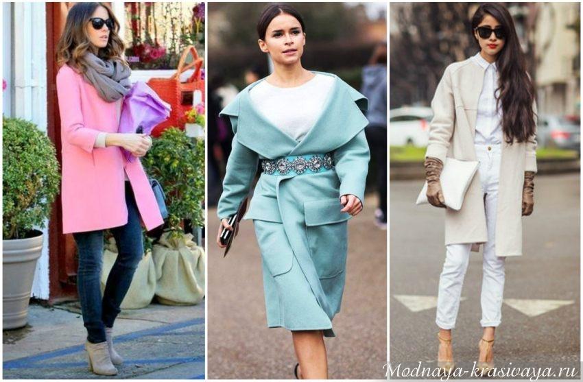 Разнообразные варианты пальто
