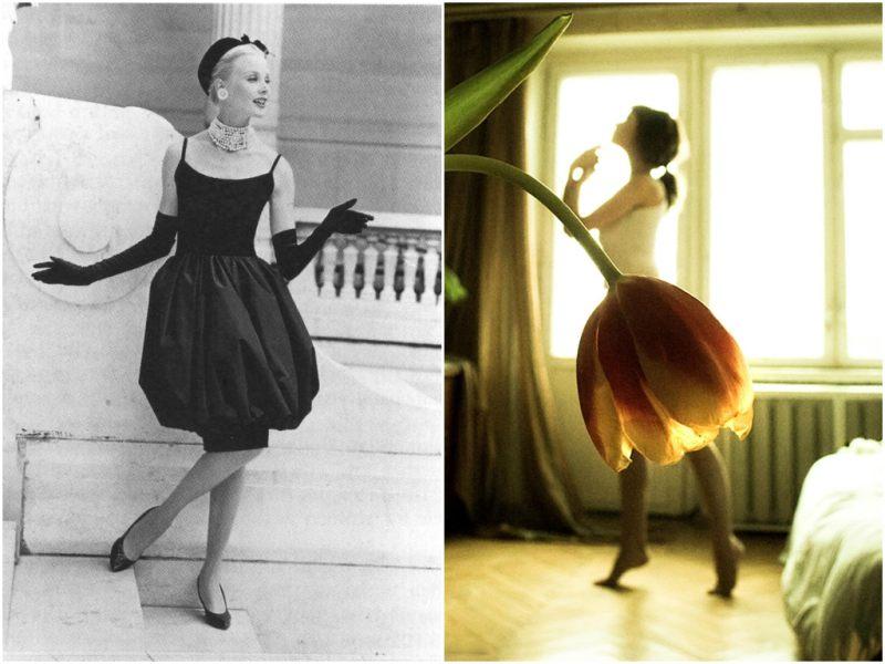 С чем носить платья тюльпан?