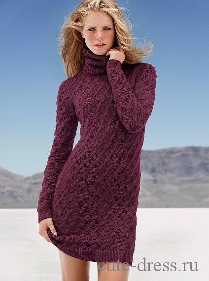 Длинное платье от Виктории Сикрет