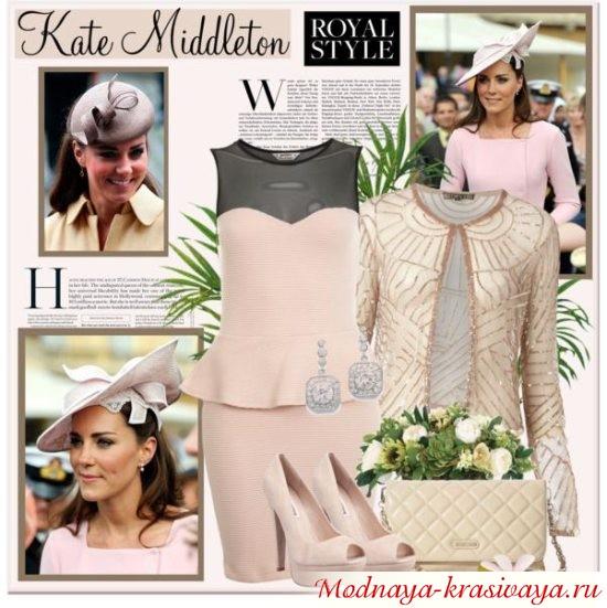 кейт мидлтон в платье
