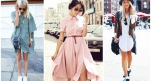 Универсальные платья-рубашки