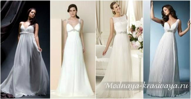 свадебные модели