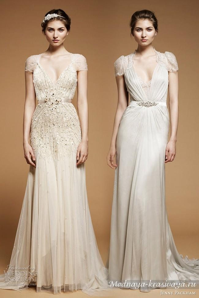 Свадебные греческие платья