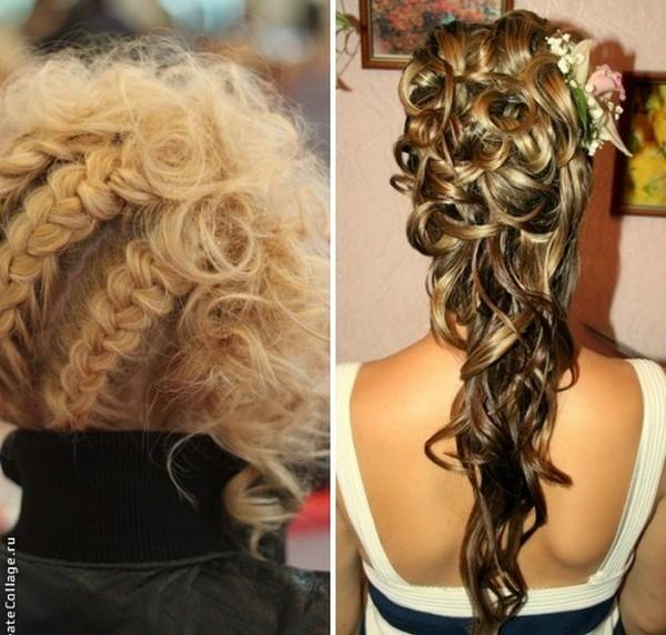 Как сделать прическу на выпускной на длинные волосы