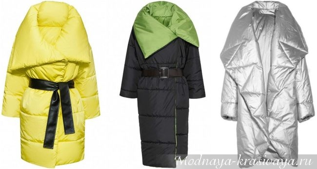Цветные пальто