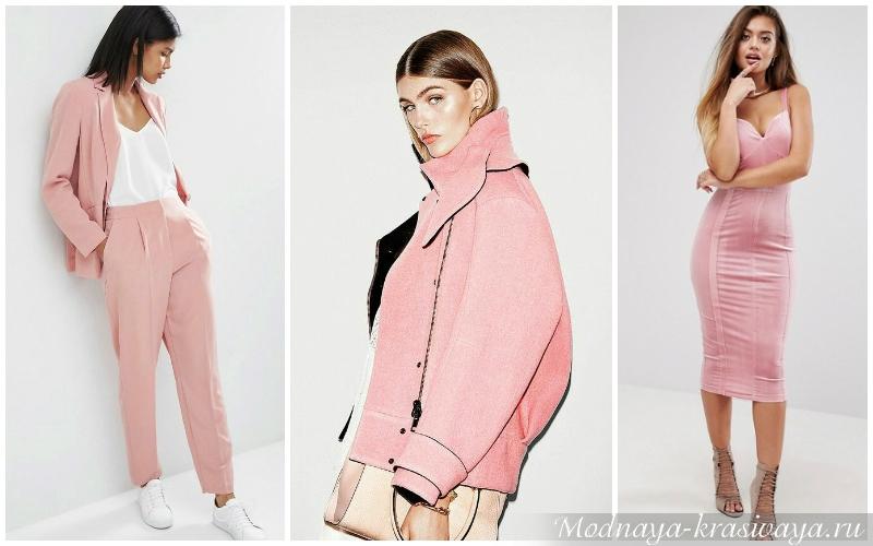 Розовый для разных цветотипов внешности