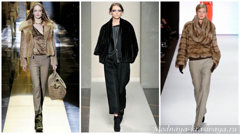Деловой стиль: сочетание с брюками
