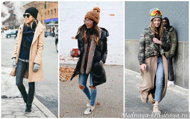 Зимние образы от блоггеров