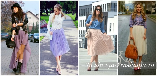 dd6c67d77c90 Шифоновые юбки: 50 фото-образов на весну-лето 2019