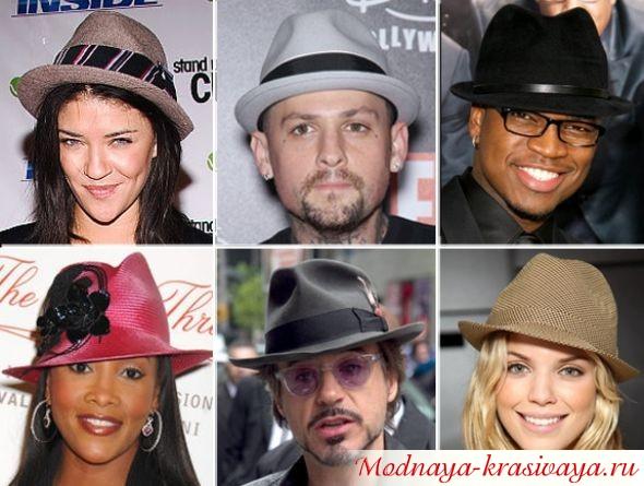 Шляпа Трилби, фото