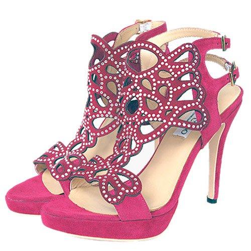 плетеные розового цвета