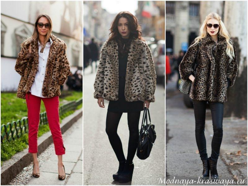 Must-have уличных модников леопардовый принт