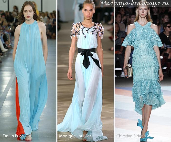 Нежные воздушные платья