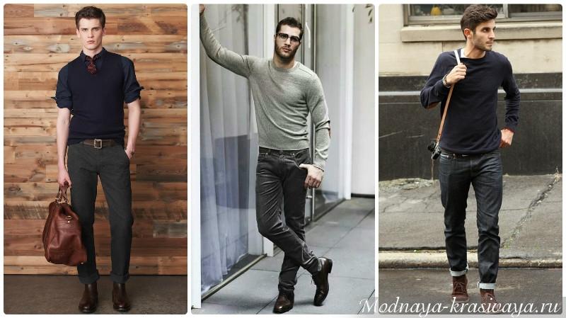 Трикотажные кофты в стиле casual для мужчин