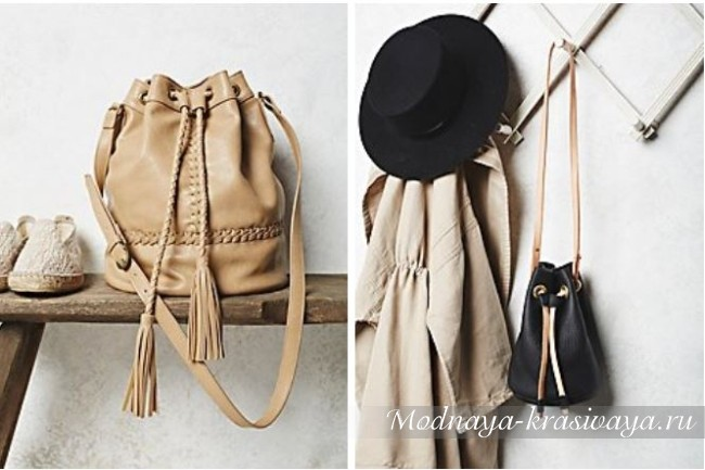 Красивые сумки с бахромой
