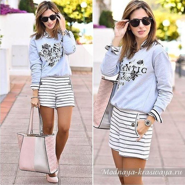 Модные свитшоты для девушек