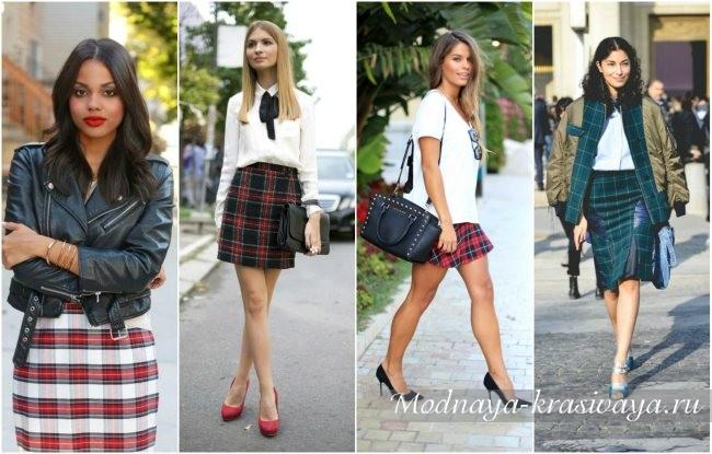 tartan skirt03