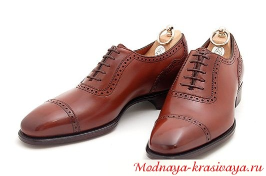 ботинки Оксфорды, фото