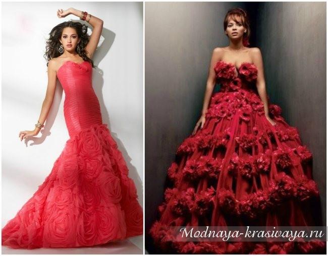 пышные платья на выпускной 2017