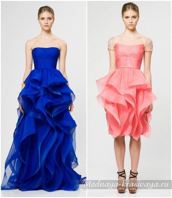 дизайнерские платья, фото